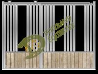 Visuel d'une façade stabulation de box modèle Beethoven