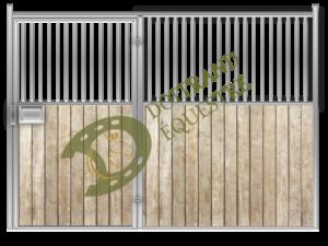 Visuel d'une façade porte battante de box modèle Berlioz 1