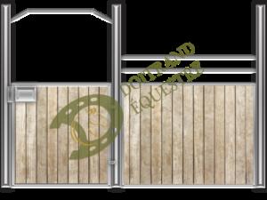 Visuel d'une façade de box western modèle GS