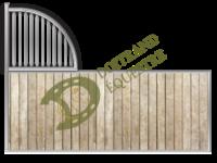 Visuel d'une séparation de box modèle Lofoten