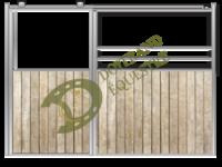 Visuel d'une façade de box western modèle Mustang