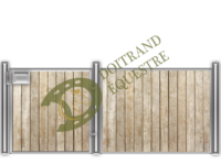 Visuel d'une façade de box western modèle Quarter