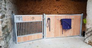 1 façade de box modèle Quarter et bois douglas naturel