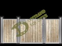 Visuel d'une façade de box western modèle Paint