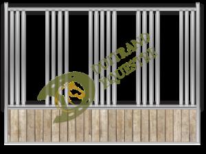 Visuel d'une séparation de box modèle Jamaïque