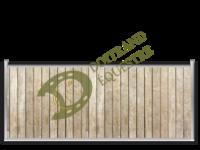 Visuel d'une séparation de box modèle Shetland