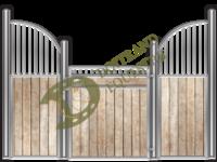 Visuel d'une façade de box faune modèle Éléphant