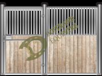 Visuel d'une façade de box faune modèle Féline 1