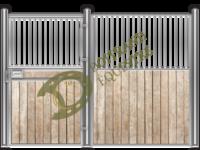 Visuel d'une façade de box faune modèle Féline 2