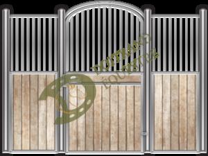 Visuel d'une façade de box faune modèle Ours 1